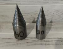 Конус насадка на перфоратор или дрель, диаметр 30мм